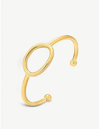 Folli Follie Metal Chic small gold-plated bangle