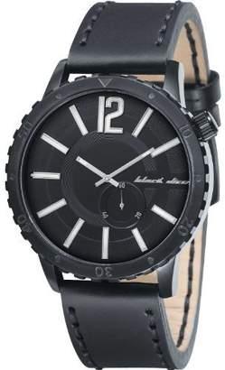 Black Dice Dice Men's Swagger BD-069-01 Leather Analog Quartz Watch
