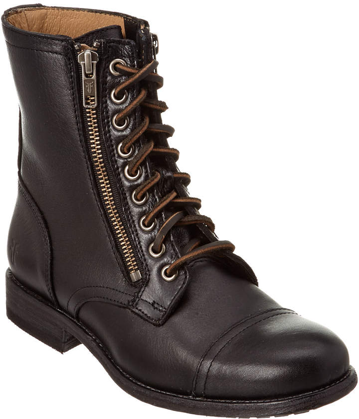 Frye Women's Tyler Double Zip Leather Boot