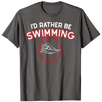 Swimming T-Shirt Swimmer Gift For Girl Woman Kids
