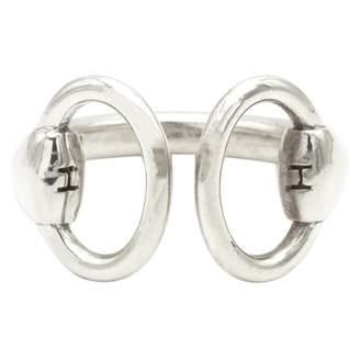 Hermes Nausicaa silver ring