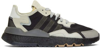 adidas Black and Grey Nite Jogger Sneakers