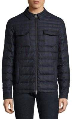 Etro Sportswear Quilted Wool Jacket