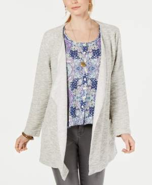 Style&Co. Style & Co Drape Front Cardigan; Created for Macy's