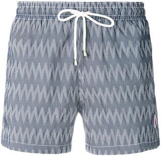 Missoni pattern swim shorts
