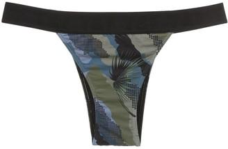 Track & Field Camuflada bikini bottoms
