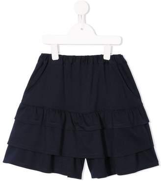 Familiar elasticated waist cargo shorts