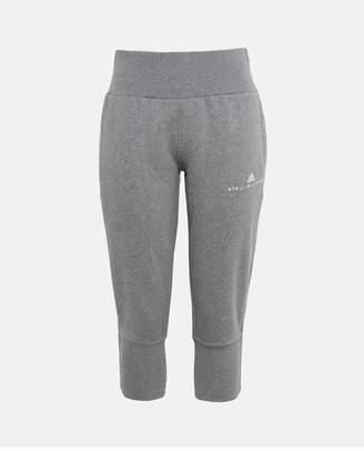 adidas by Stella McCartney Gray Essentials 3/4 Sweatpants