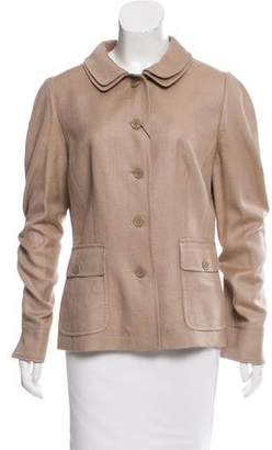 Dolce & Gabbana Casual Silk Jacket w/ Tags