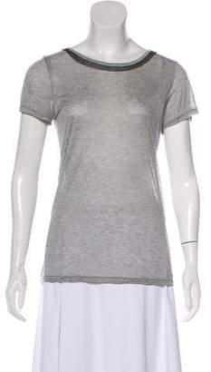 Jason Wu Short Sleeve Jersey Top