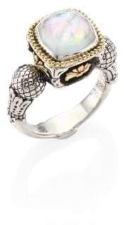Konstantino Nemesis Mother-Of-Pearl Doublet Ring