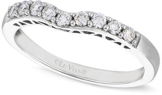 LeVian Le Vian Diamond Diamond Wedding Band (1/4 ct. t.w.) in 14k White Gold