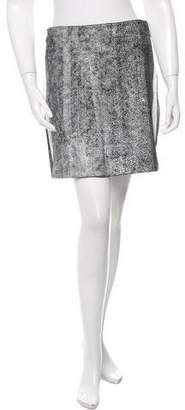 3.1 Phillip Lim A-line Printed Mini Skirt w/ Tags