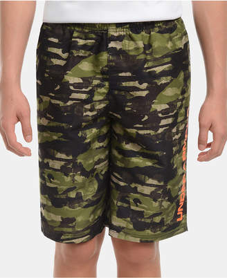 b20fe76bfd Under Armour Big Boys Camo-Print Grit Volley Swimsuit