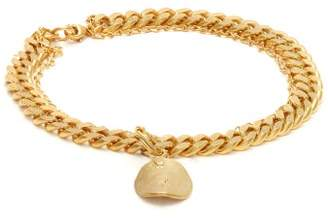 Orit Elhanati - Aliya Double Chain Gold Plated Anklet - Womens - Gold