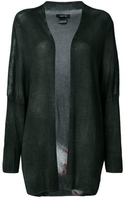 at Farfetch Avant Toi open front midi cardigan