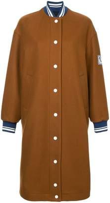 MSGM long bomber coat