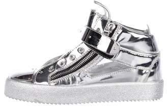 Giuseppe Zanotti Metallic May London Sneakers