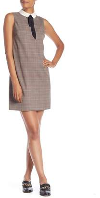 Cynthia Steffe CeCe by Glen Plaid Sleeveless Shift Dress