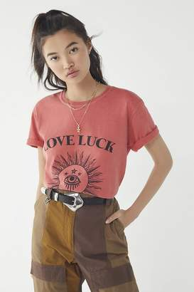 Urban Outfitters Love Luck Tee