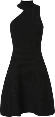 Cushnie et Ochs Asymmetric Neck Dress $995 thestylecure.com