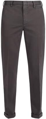 Prada Slim-fit cotton-blend chino trousers