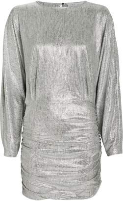IRO Silar Metallic Mini Dress