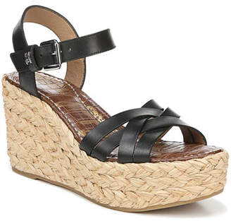8d2940d5e861 Sam Edelman Darline Leather Platform Espadrille Sandals