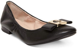 Kate Spade Marline Leather Bow Ballet Flats