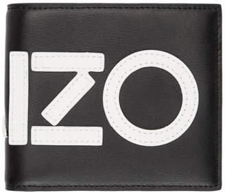 Kenzo Black Logo Wallet