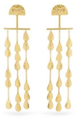 Sophia Kokosalaki - Twilight Gold Plated Earrings - Womens - Gold