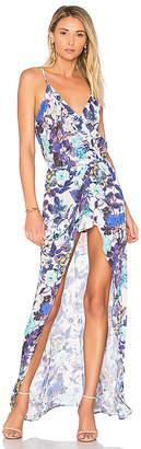 Karina Grimaldi Aculina Print Dress