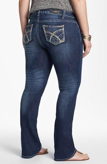 ZCO Destroyed Bootcut Jeans (Juniors Plus)