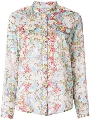Pierre Balmain abstract print shirt