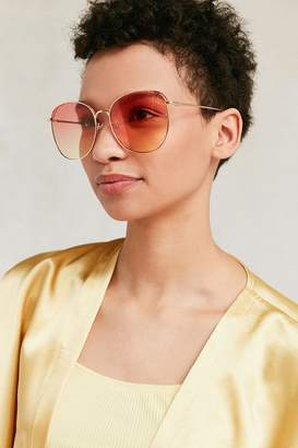 Urban Outfitters Stella Gradient Round Sunglasses $16 thestylecure.com