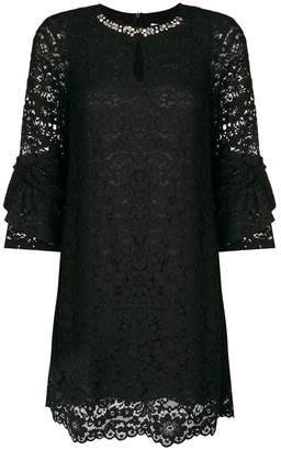 Blugirl lace shift dress