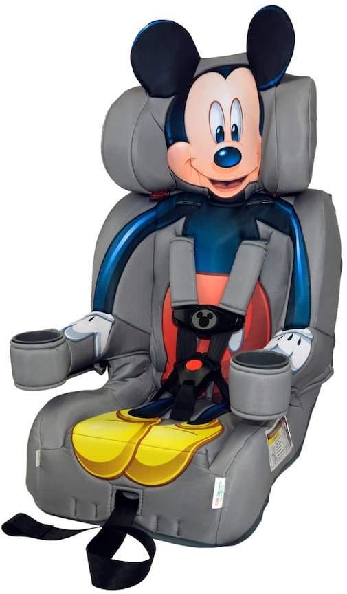 Disney's Mickey Mouse Booster Car Seat by KidsEmbrace
