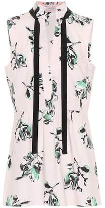 Schumacher Dorothee Tender Blossom cotton blouse