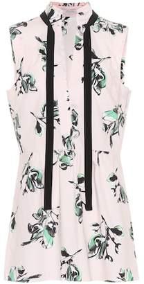 Schumacher Dorothee Tender Blossom cotton blouse