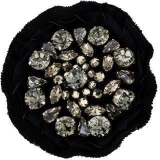 pradaPrada Crystal Twill Round Brooch
