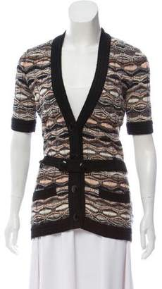 Missoni Patterned Button Front Cardigan