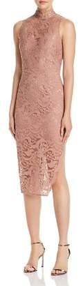 Aijek Lace Sweetheart Illusion Sheath Dress - 100% Exclusive