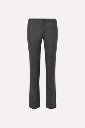 Alexander McQueen Wool Straight-leg Pants - Gray