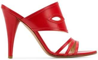 Vivienne Westwood cross strap sandals
