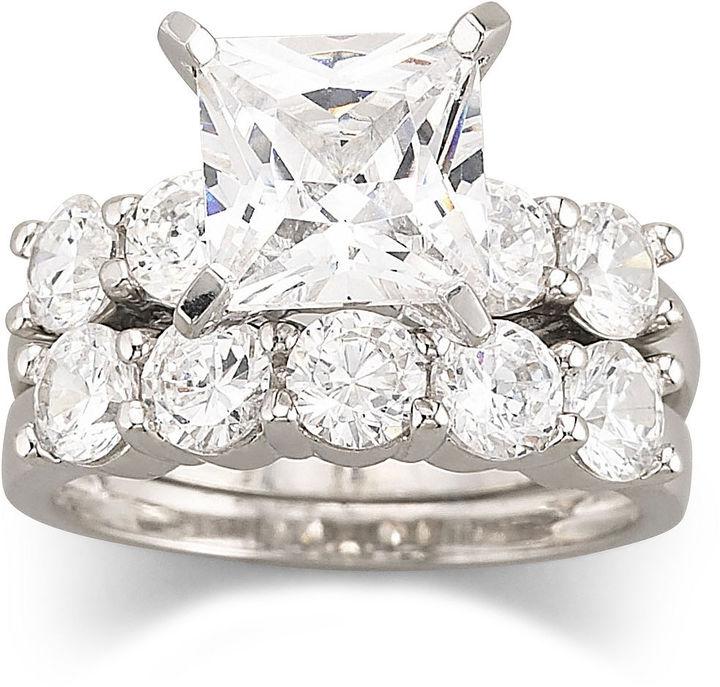 jcpenney fine jewelry diamonart cubic zirconia engagement