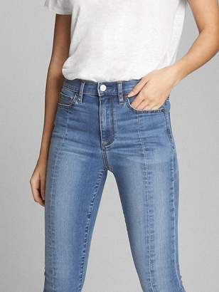 Gap Super High Rise True Skinny Ankle Jeans with Seam Detail