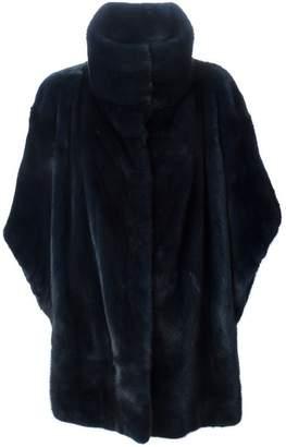 Liska floral back cloak