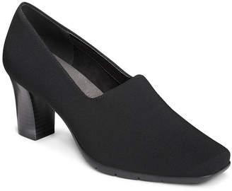 Aerosoles A2 BY  Womens Monday Night Pumps Slip-on Round Toe Block Heel