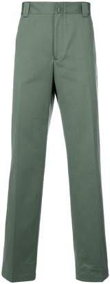 Lanvin concealed front chinos