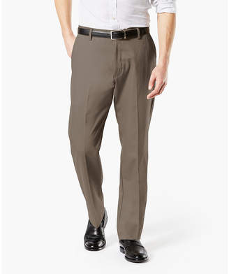 Dockers Signature Khaki Classic Fit Flat Front Pants-Big and Tall